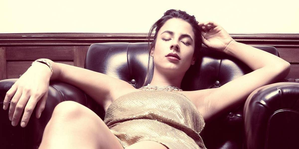 Carla Giraldo se 'encueró' para mostrar su tatuaje íntimo