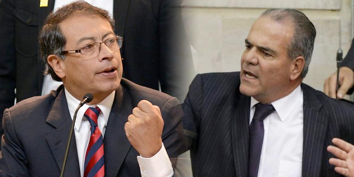 Petro le respondió con una canción al rechazo del senador del Centro Democrático