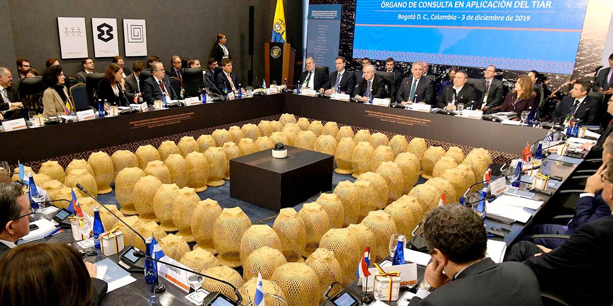 TIAR aumenta la presión contra el régimen Maduro y sanciona a 29 de sus funcionarios