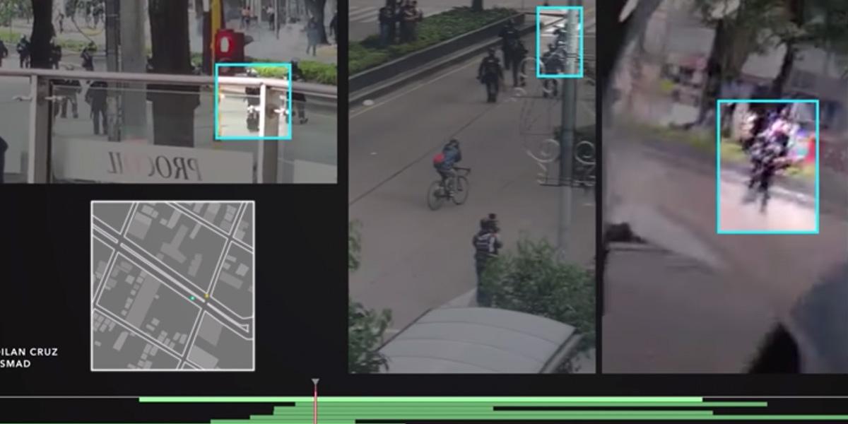 Video a múltiples cámaras, y segundo a segundo, reconstruye el disparo que mató a Dilan Cruz