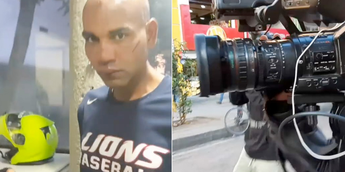 Capturan a agresor de equipo periodístico de Canal Capital durante el 4D
