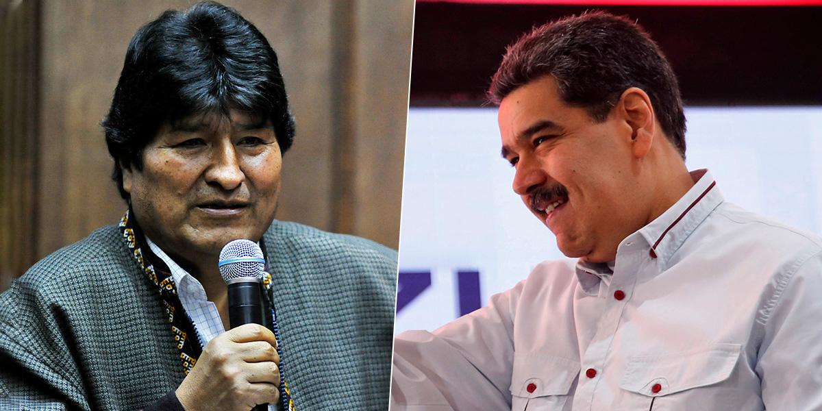 Presidente Maduro asegura que se está preparando el regreso de Evo Morales a Bolivia