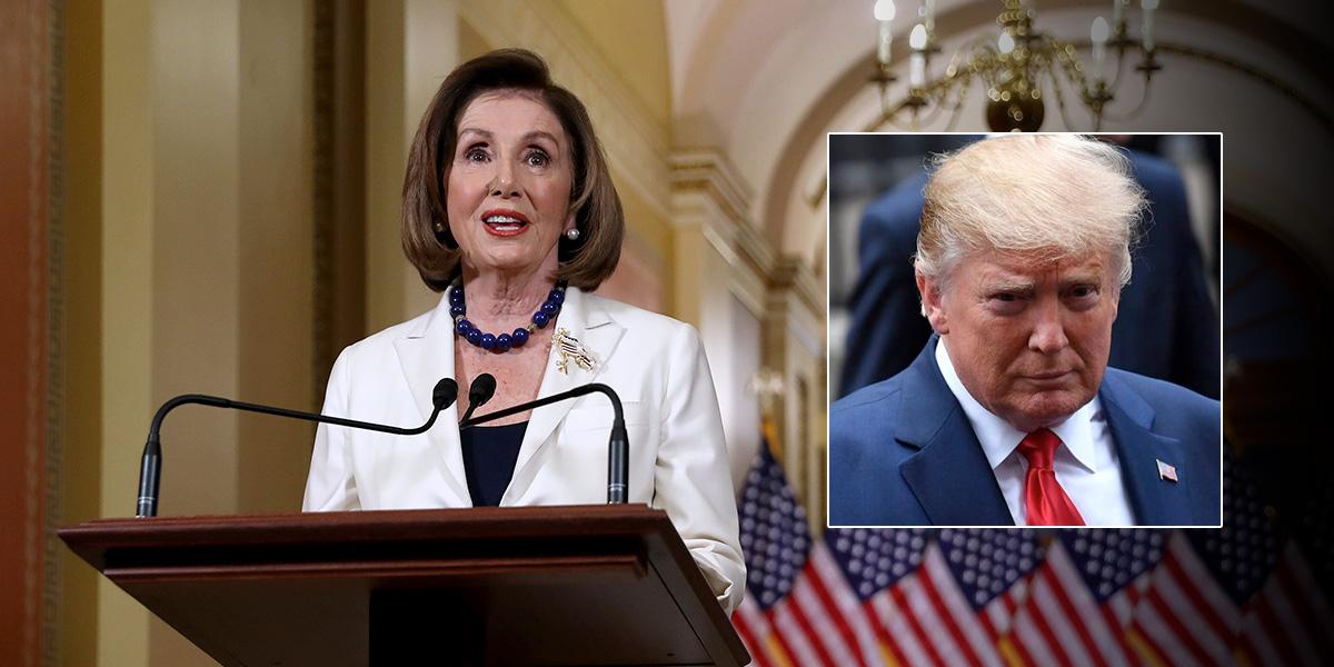 Nancy Pelosi solicita iniciar redacción de los cargos del juicio político contra Trump