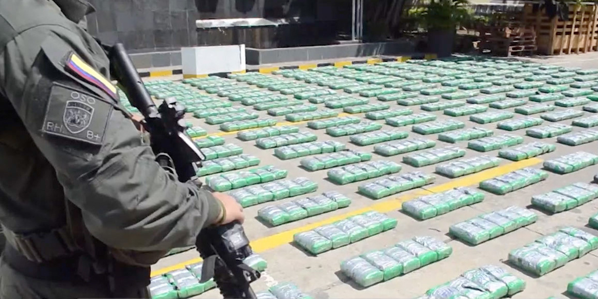 Policía incauta 1,2 toneladas de cocaína en San Andrés que tenía como destino EE. UU.