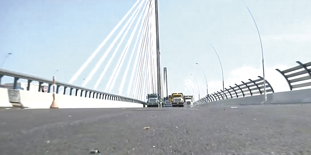 Culminan pruebas de resistencia del puente Pumarejo en el Atlántico