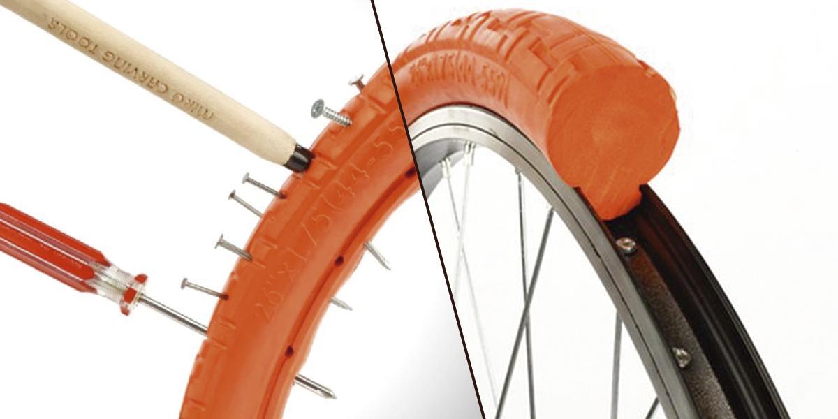Conozca las nuevas ruedas para bicicletas que no se pinchan