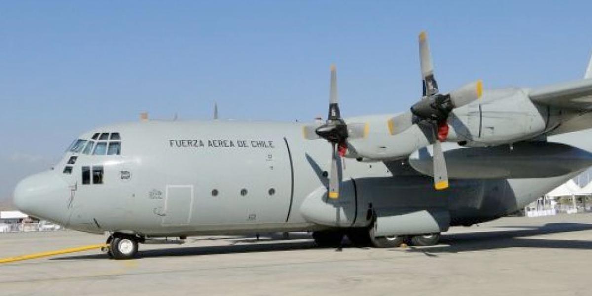 Desaparece un avión militar chileno con 38 personas a bordo