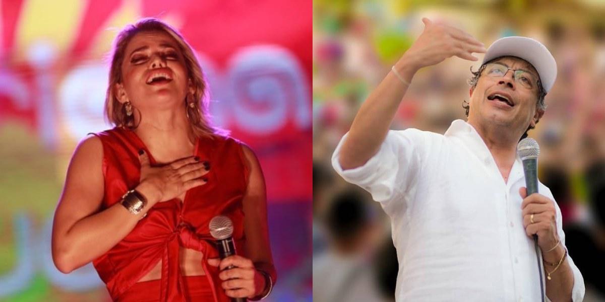 """Adriana Lucía responde a Petro por decir que el vallenato """"se entregó al traqueto"""""""
