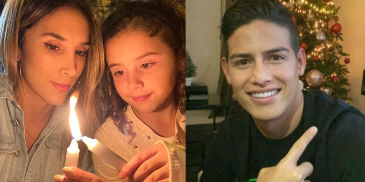 La indirecta de Daniela Ospina  a James Rodríguez en plena Navidad