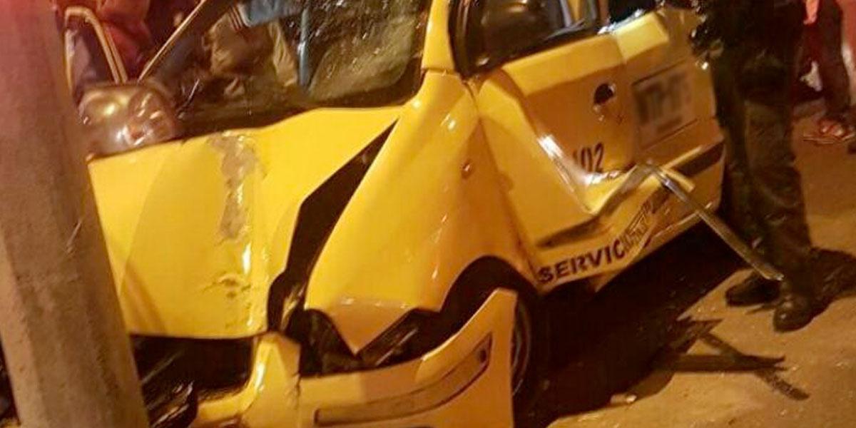 Disminuye siniestralidad de taxis en Bogotá durante 2019