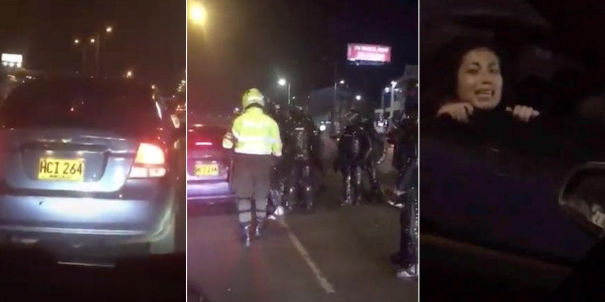 Polémica por aparente retención de jóvenes durante disturbios en Bogotá