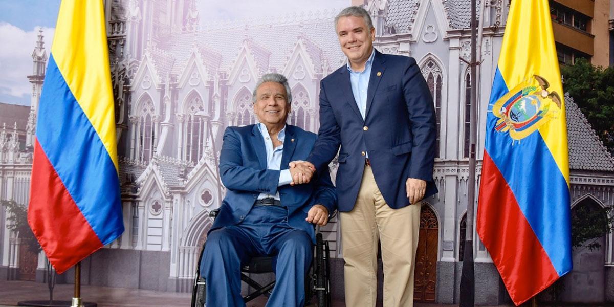 Presidentes Iván Duque y Lenín Moreno iniciaron el VIII Gabinete Binacional Colombia-Ecuador