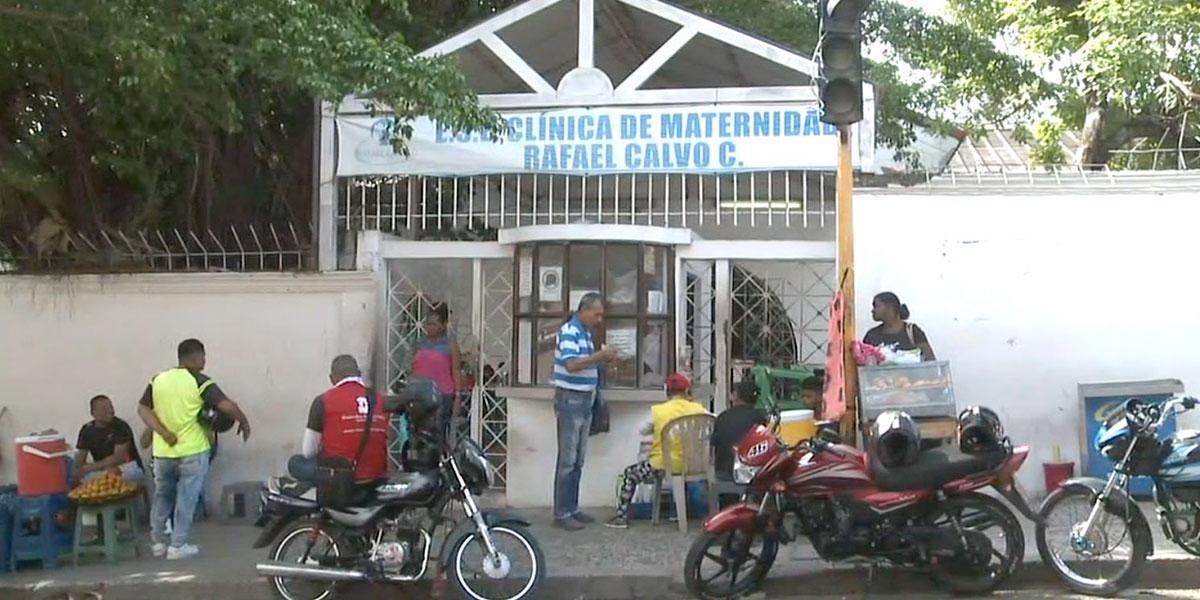 Grave crisis en la Clínica Rafael Calvo en Cartagena
