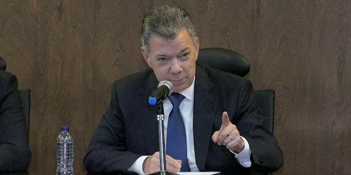 Protesta ciudadana, gran oportunidad para consenso sobre la paz: expresidente Santos