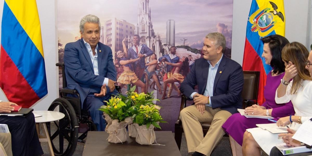 Colombia y Ecuador renuevan compromiso con la concertación y la integración regional