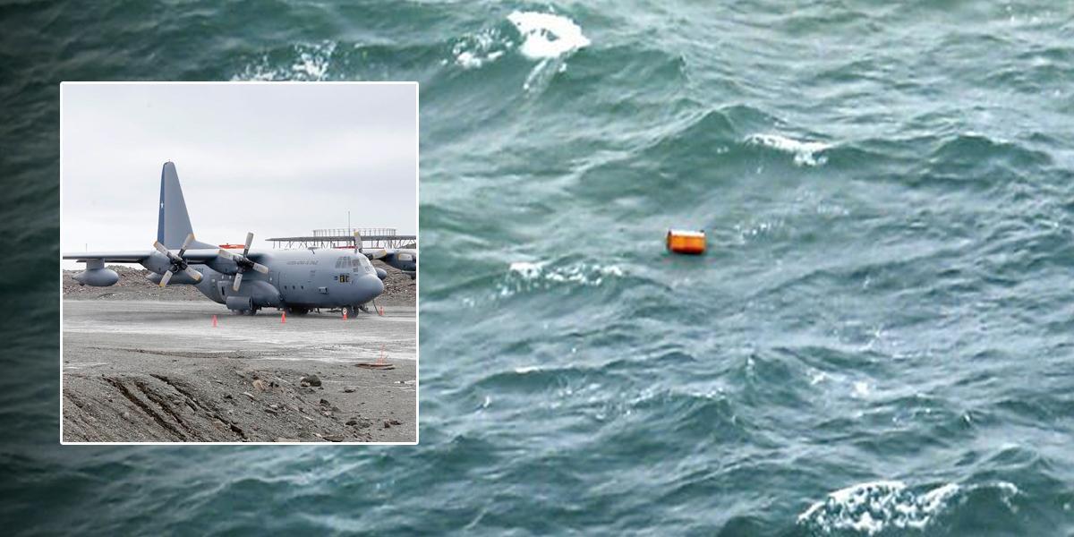 Hallan posibles restos del avión de la Fuerza Aérea chilena desaparecido