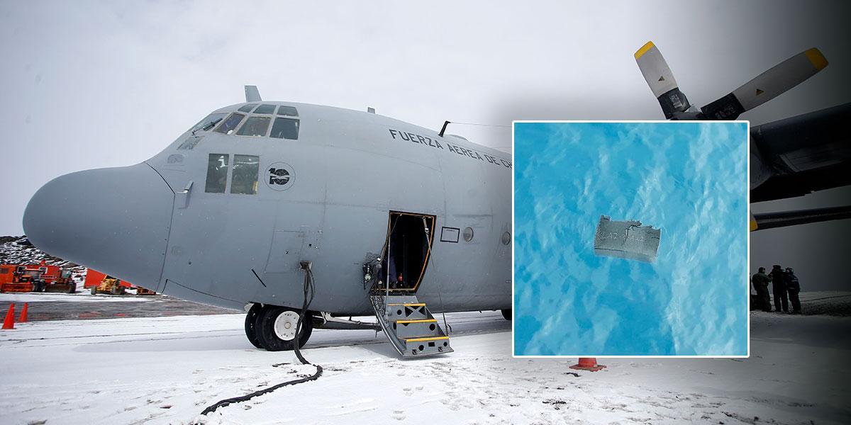 Hallan restos humanos donde se perdió avión chileno