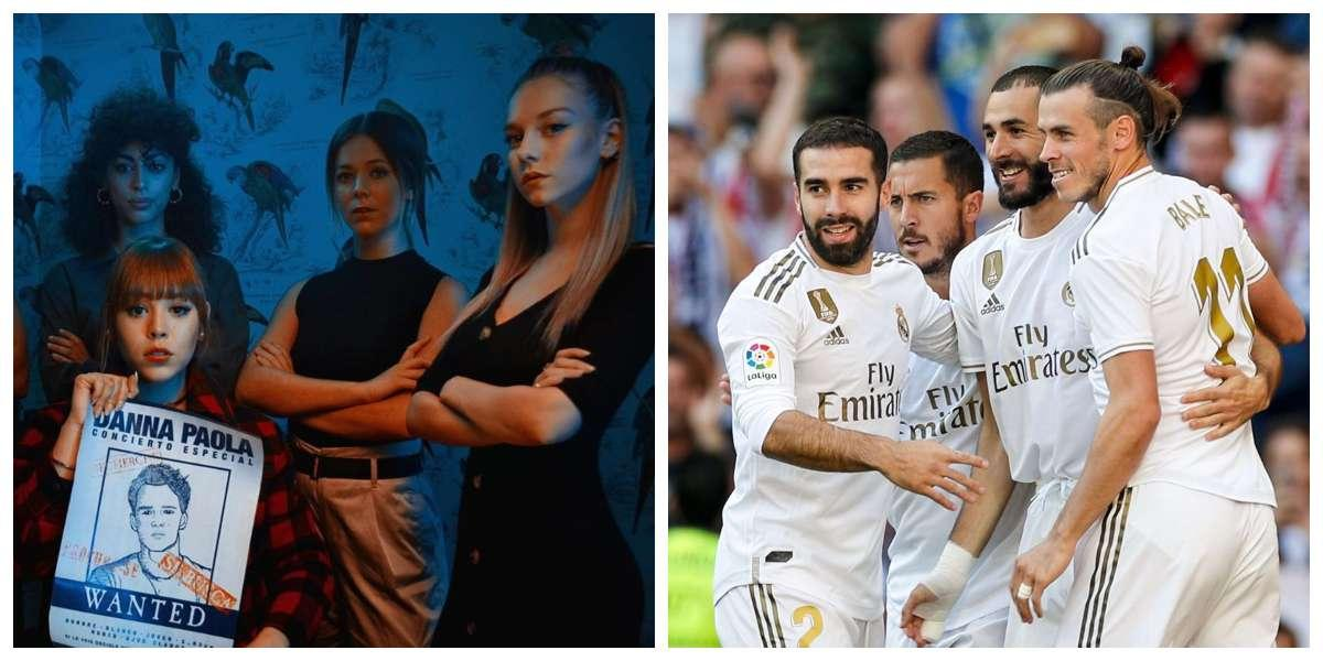 Actriz de Elite se pronuncia tras rumores de un amorío con un jugador casado del Real Madrid