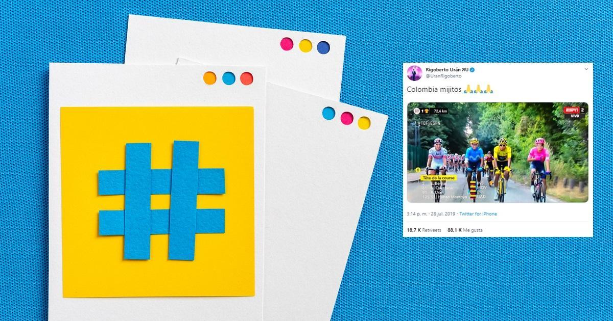 Los tuits más exitosos de los deportistas colombianos en Twitter en 2019