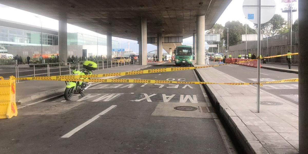Muere menor arrollado por un alimentador en aeropuerto El Dorado