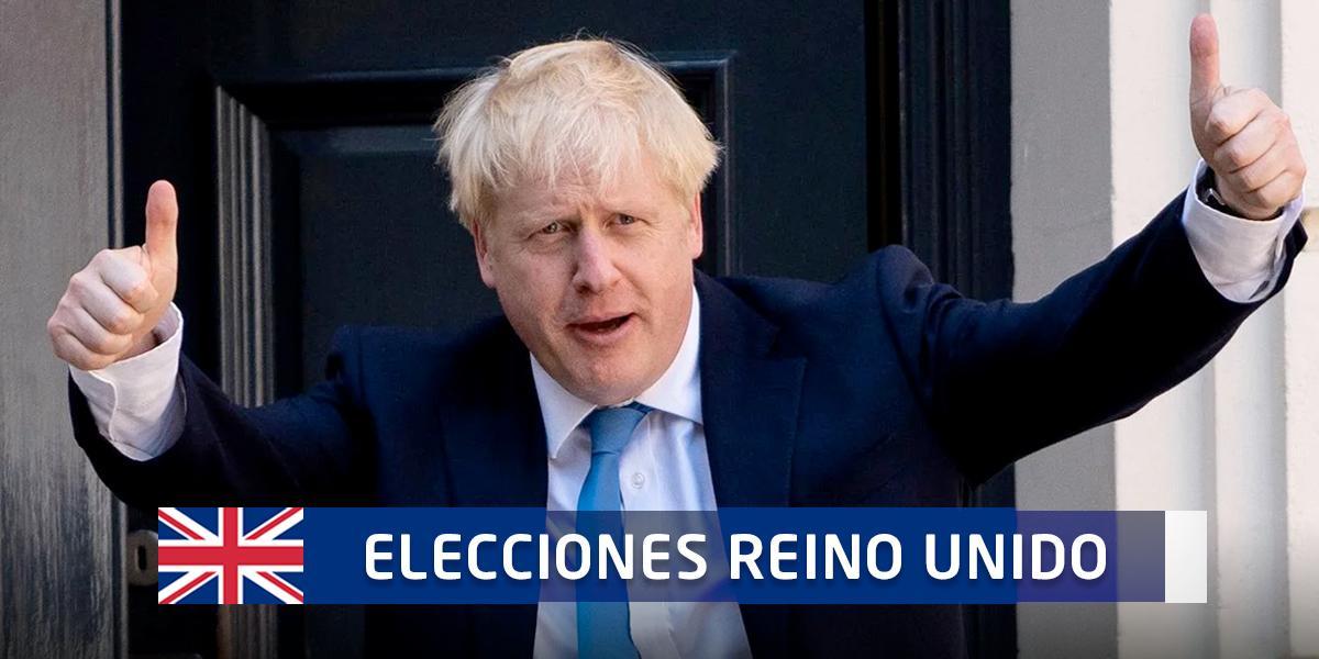 ¿Vía libre para el brexit? Aplastante mayoría de Boris Johnson según sondeos a pie de urna
