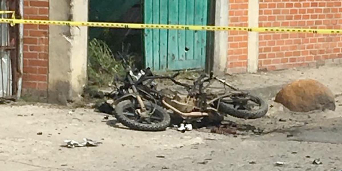 Moto con explosivos fue activada en Florida, Valle del Cauca