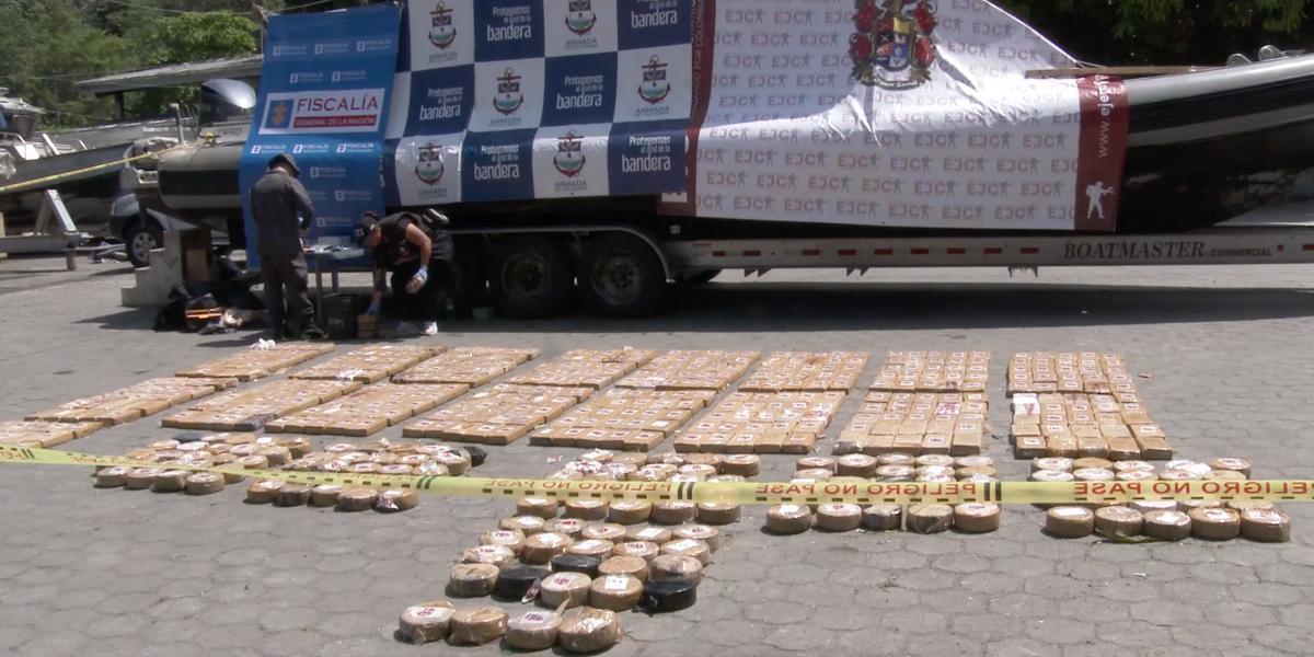 Más de 123 toneladas de cocaína se han incautado durante el 2019 en Nariño