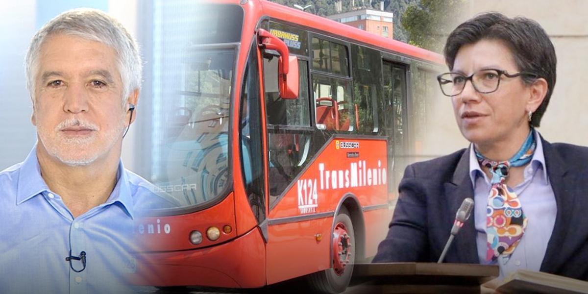 Peñalosa pide a Claudia López aumentar tarifa de Transmilenio de manera responsable