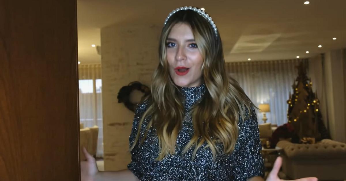 (Video) Laura Tobón mostró su espectacular casa, hasta con árbol de Navidad en cartón