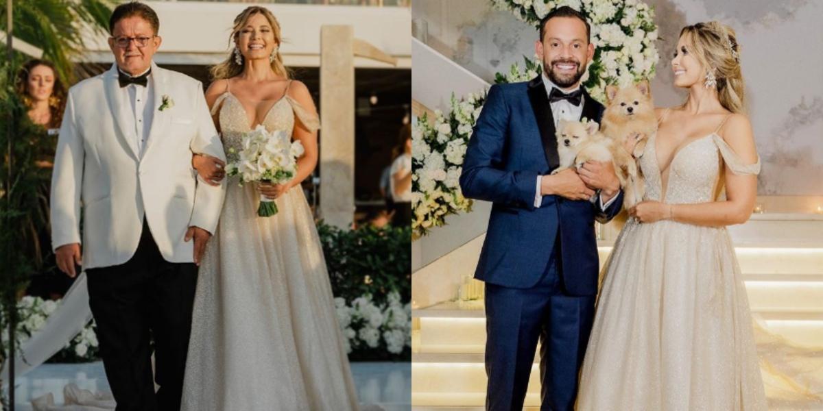 El llanto de Matías Mier en su boda con Melissa Martínez