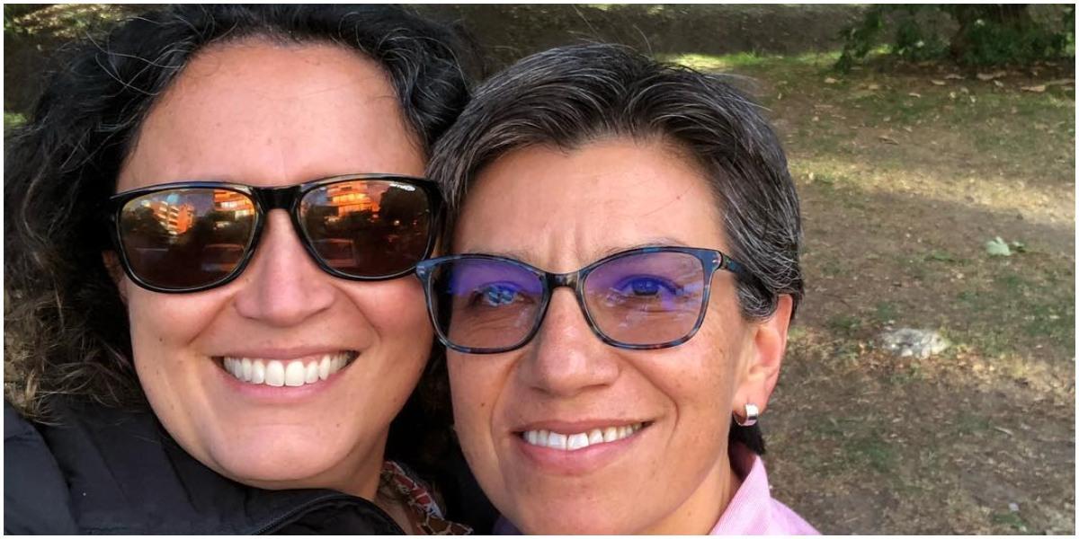 primera foto matrimonio angelica lozano claudia lopez