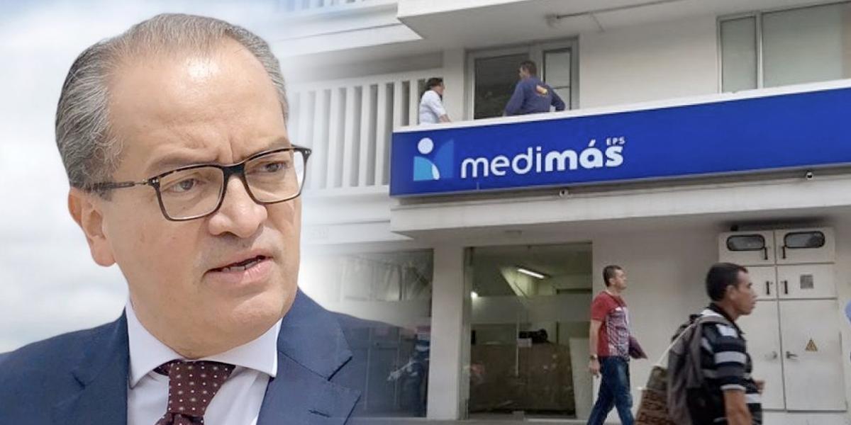 Procurador pide a Supersalud intervención forzosa para liquidar a Medimás