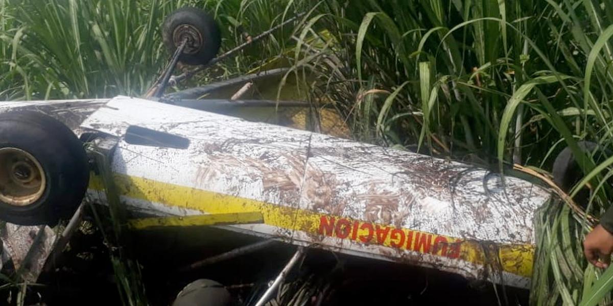 Muere piloto en accidente de una avioneta en zona rural de Bugalagrande, Valle