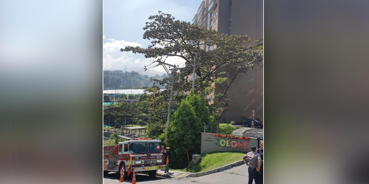 Fallece pareja que resultó quemada en unidad residencial en Envigado