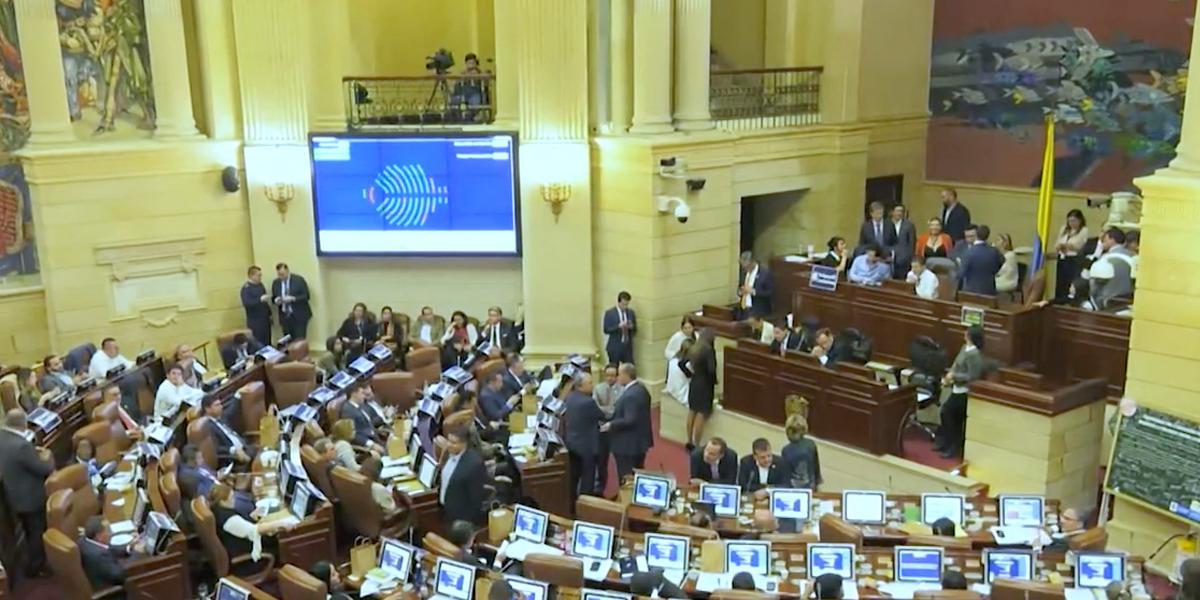 Articulado de la reforma tributaria fue aprobado en un 90 % por la Cámara de Representantes