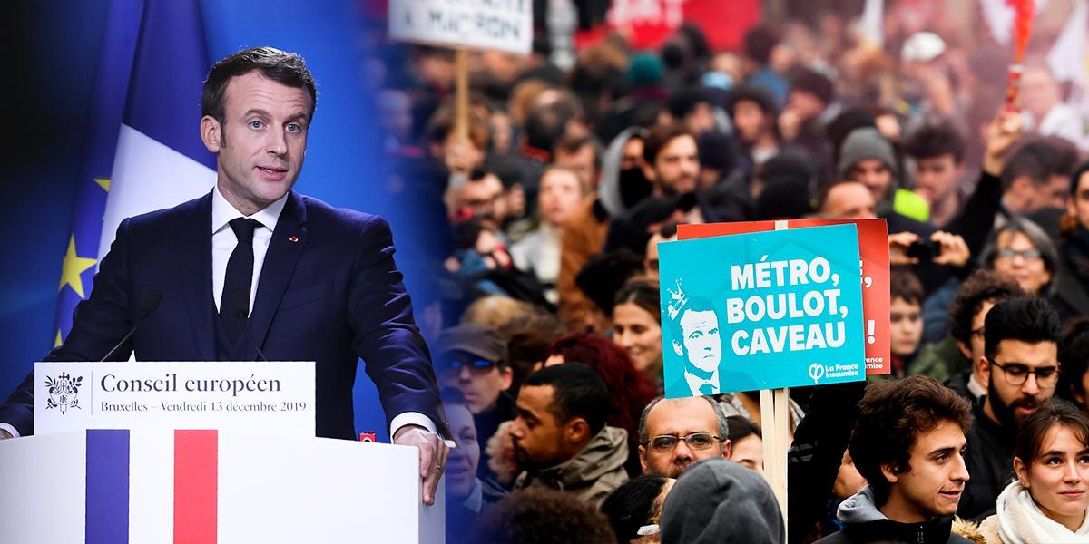 Gobierno de Francia no retirará proyecto de reforma a pensiones, pero está dispuesto a mejorarlo