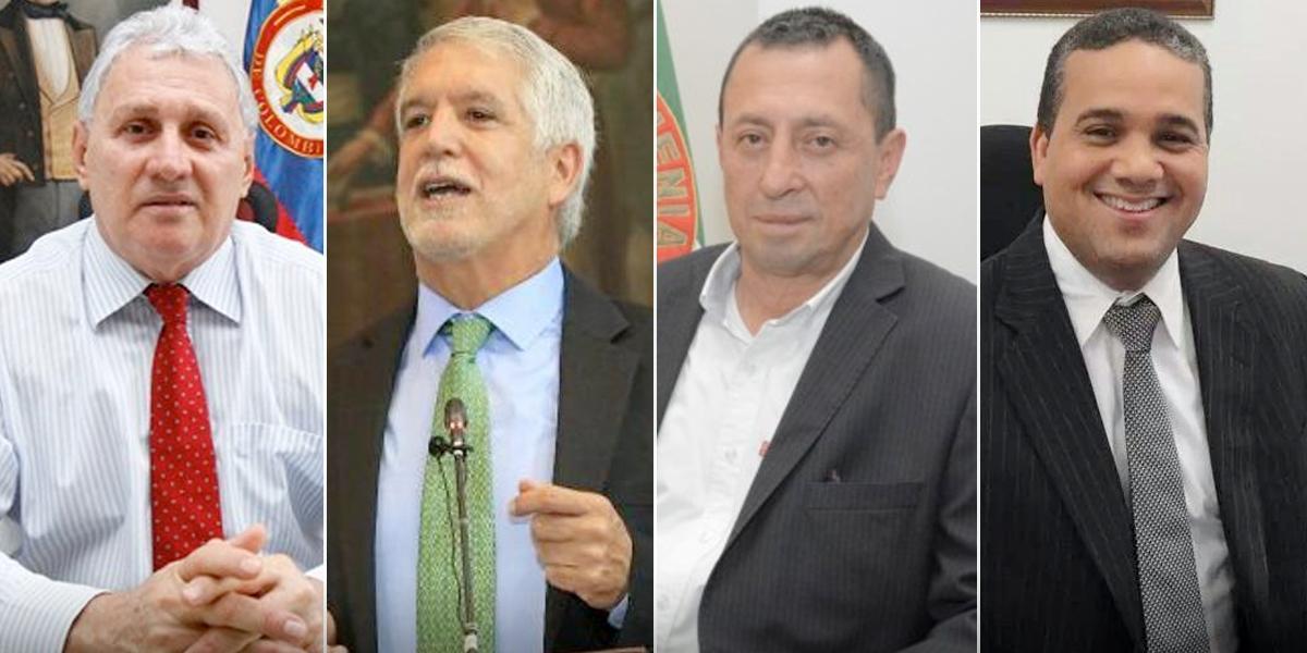 Alcaldes de Cúcuta, Bogotá, Armenia y Cartagena, los de imagen negativa más alta en el país