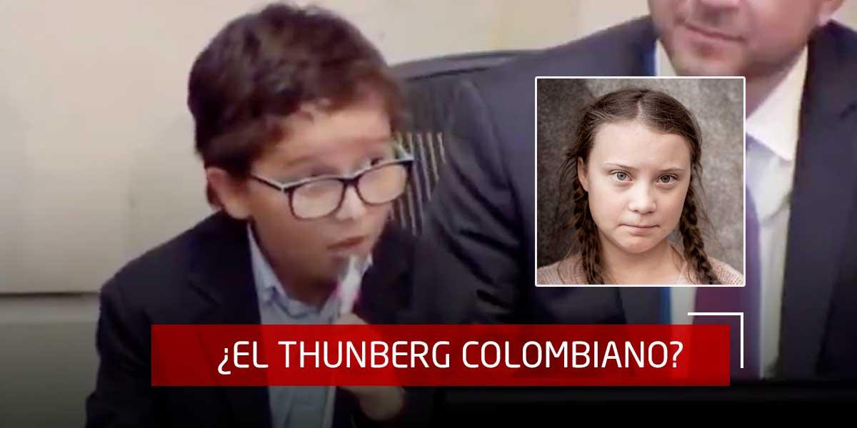 Francisco, el niño ambientalista que invitó al Congreso a votar en contra de la reforma tributaria