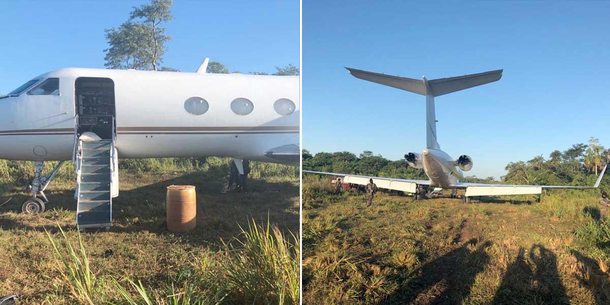 Fuerza Aérea colombiana logra incautar más de 2 toneladas de cocaína en Centroamérica