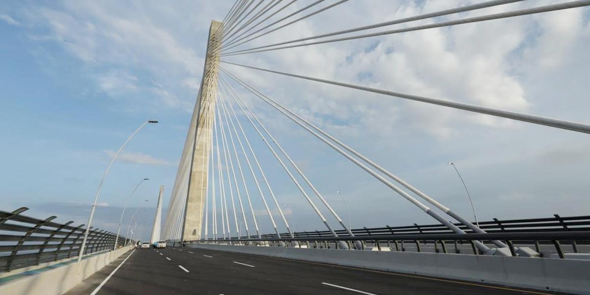 Así es el nuevo puente Pumarejo, considerado como el quinto más ancho del mundo