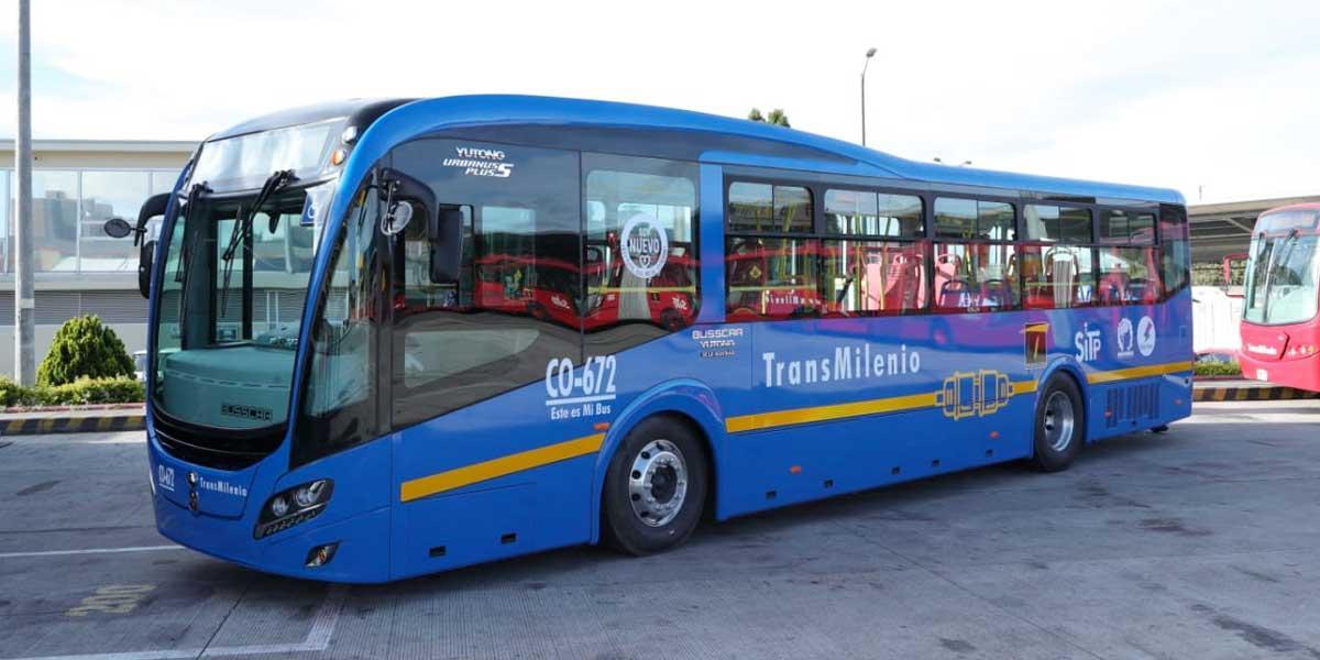 Primer bus eléctrico del SITP ya rueda en Bogotá