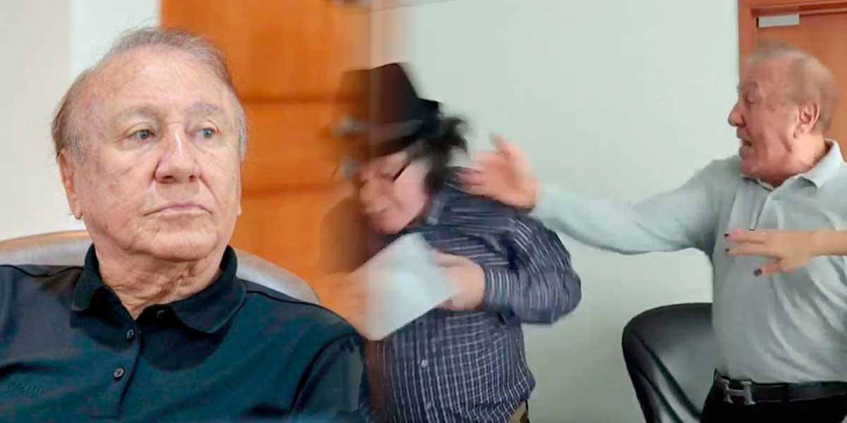 Rodolfo Hernández tendría que pagar millonaria multa por agredir a un concejal