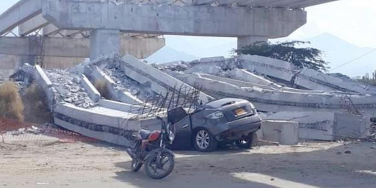 Invías investigará a la constructora del puente de Ciénaga
