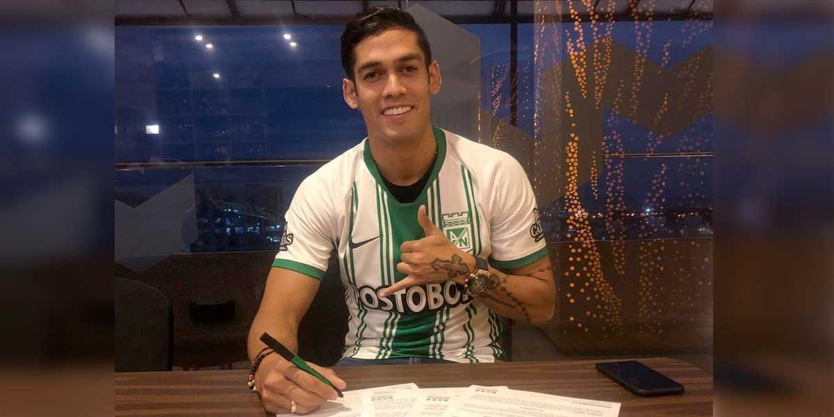 Andrés Andrade jugará en Atlético Nacional tras 7 años en México