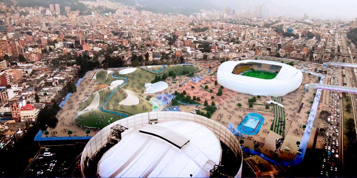 Así se transformaría el estadio El Campín en moderno complejo deportivo