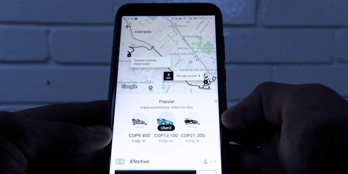 Empresas de telefonía móvil reciben la orden de suspender Uber