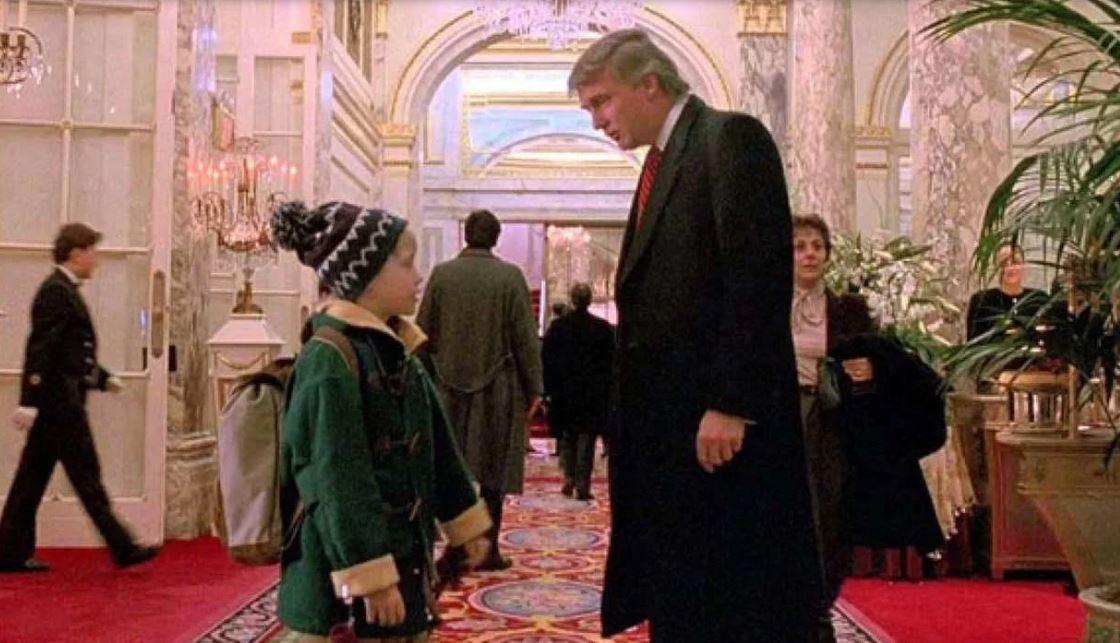 Cameo de Donald Trump en 'Mi pobre angelito 2' fue eliminado por la TV canadiense