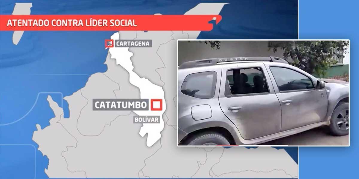 Ataque armado a líder social en Catatumbo