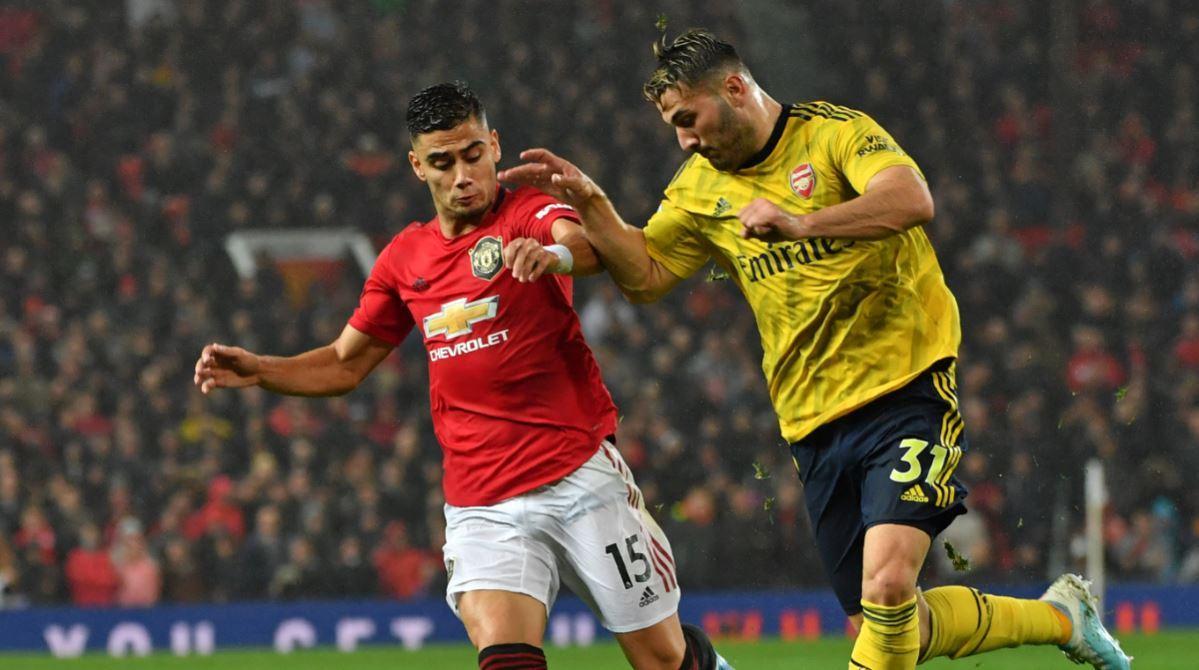 El 2020 arranca con un partidazo de Premier League entre Arsenal y Manchester Utd.